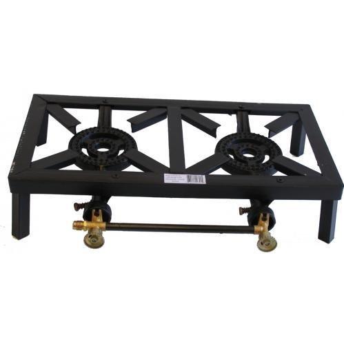 Propane 3 stove cast iron burner