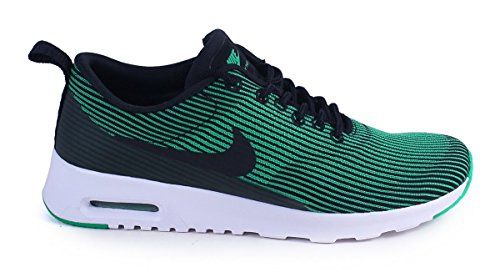 Nike W Air Max Thea Kjcrd, Chaussures de Sport Femme Noir - Negro (Black / Black-spring Leaf-white)