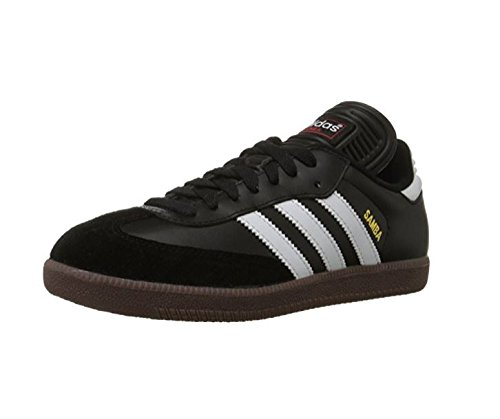 adidas Men's Samba Classic Soccer Shoe,Black/Running White,9.5 M (Adidas Mens Authentic Football Jersey)