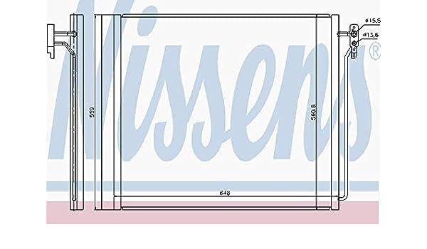 Nissens 940343 Condensador, aire acondicionado: Amazon.es: Coche y ...