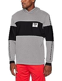 PUMA Mens Rebel Block Hoody FL Hoodies & Sweatshirts