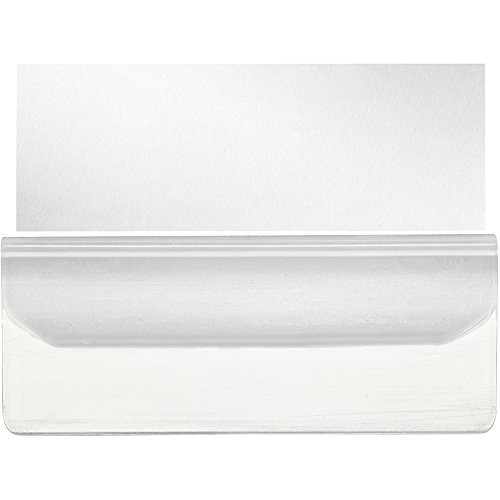 - Leitz Label Holder 55 mm-Clear-Pack of 10