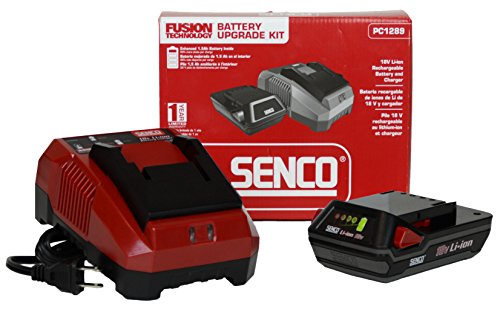 Senco Fusion PC1289 18v Li-Ion 1.5ah Battery and Charger Upgrade Kit by Senco