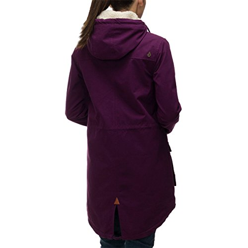 Volcom Women's Walk On By Parka Plum Small by Volcom (Image #1)
