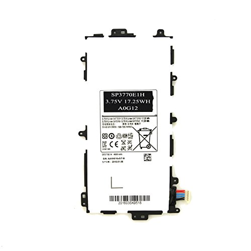 Price comparison product image Ankon SP3770E1H Battery for Samsung Galaxy Note 8.0 GT-N5110 N5100 N5120 SGH-I467 SGH-I467ZWAATT Tablets-[3.75V 17.25Wh]