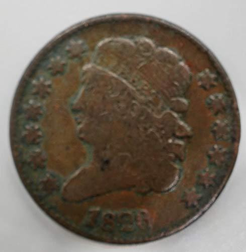1826 Classic Head Half Cent 1/2¢ VF