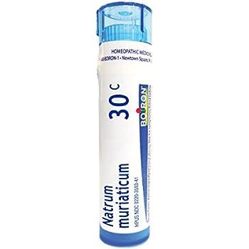 Boiron Natrum Muriaticum 30C, 80 Pellets, Homeopathic Medicine for Runny Nose