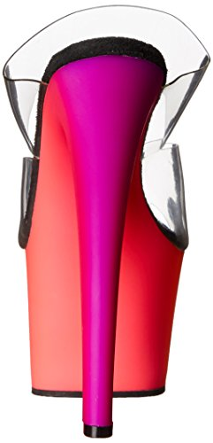 Pleaser RAINBOW-302UV Clr/Neon Multi Size UK 2 EU 35