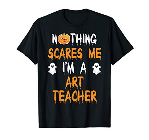 ART TEACHER Halloween Costume Gift T-Shirt -