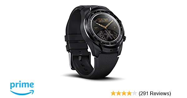 Ticwatch Pro 4G/LTE Smartwatch, Dual Display, Sleep Tracking, Swim-Ready, Long Battery Life, 1GB RAM Memory GPS, 24h Heart Rate Monitor, Cellular ...