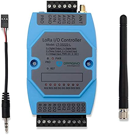 Support US915MHz Frequency NGW-1pc Dragino LT-22222-L LoRa I//O Controller