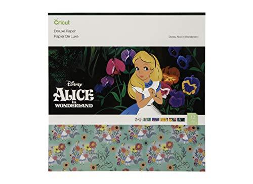 Cricut Scrapbook Pages - Cricut Deluxe Paper, Alice In Wonderland