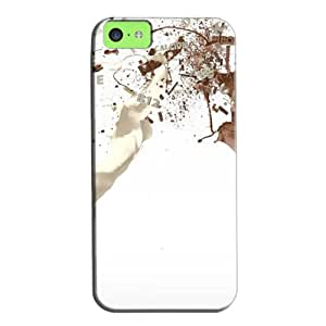 New Style Perfect For Iphone 5c Protective Hard Case White BdFb5dqjvOi