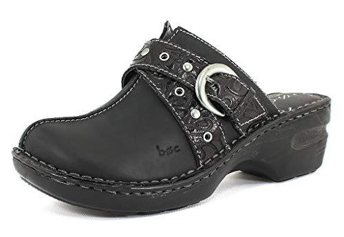 b.o.c. Women's, Karley Clog Black Oiled Nubuck 7 M