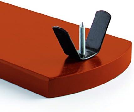 Quid ARO Metal Campo QD Jamonero de Madera barnizada, Soporte y Pinchos en Acero, Palometa Superior para sujeción, Multicolor, 37,5 x 16 cm y una Altura de 36 cm
