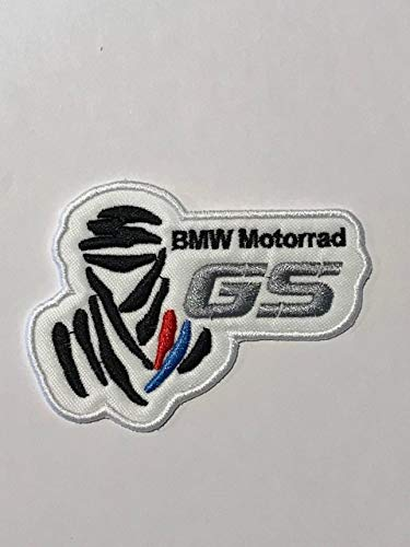PATCH RICAMATA TERMOADESIVA BMW MOTORRAD BIANCA ON RICAMI