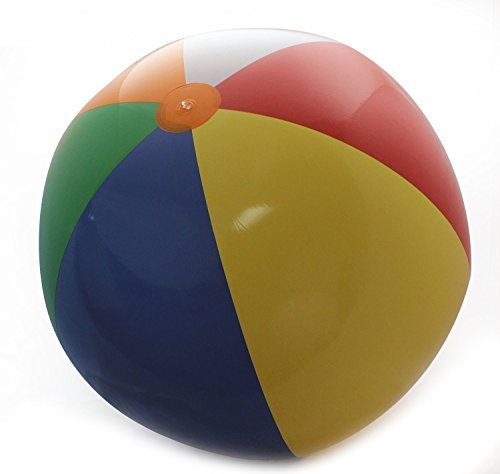 Jet Creations Inflatable 10' Giant Beach Ball,Inflatable Children's Teaching Toys