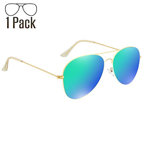 Livhò Aviator Sunglasses Polarized for Men Women Metal Frame UV 400 Protection Outdoor(2 - Metal Glasses Aviator