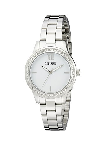 Citizen Women's EL3081-58A Analog Display Japanese Quartz Silver Watch