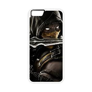 Mortal Kombat X 13 iPhone 6 Plus 5.5 Inch Cell Phone Case White Cell Phone Case Cover EEECBCAAK02737