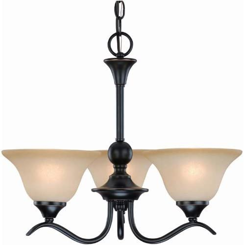 Dover 12-7622 Series Oil Rubbed Bronze 3-Light Chandelier