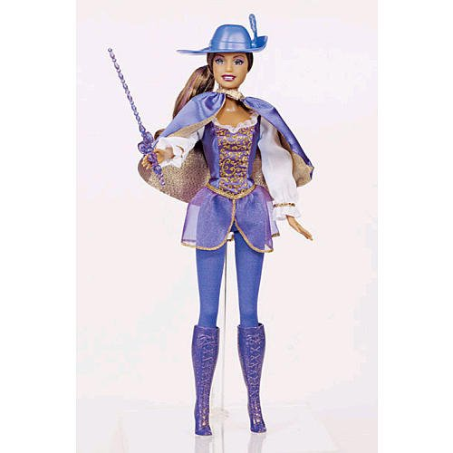 [Barbie and the Three Musketeers] (Barbie Musketeer Costume)