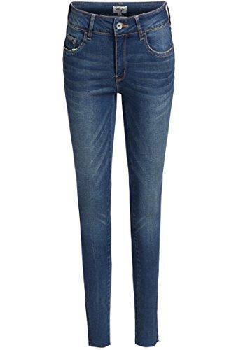 Khujo Donna Jeans Pantaloni Unita Tinta Blu Skinny xWYnvzFx