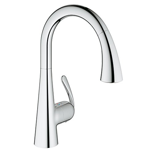Grohe Single Handle Faucets - LadyLux3 Café Single-Handle Pull-Down Kitchen Faucet
