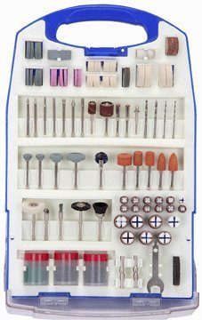 188 Piece Rotary Tool Accessory Kit by Harbor Freight Tools