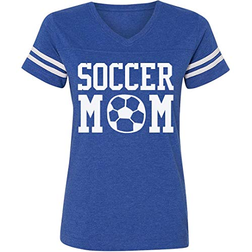 Loud & Proud Soccer Custom Mom: Ladies Relaxed
