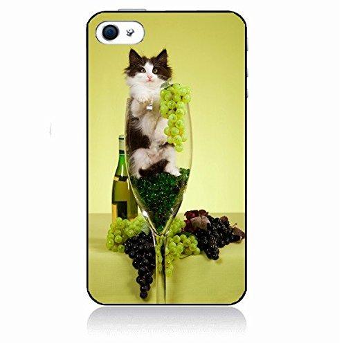 """Coque personnalisée Iphone 6 (4.7"""") Chat Funny Animals 0123 en caoutchouc silicone rigide et incassable Etui-Housse-produit original- Livraison en 48H de FRANCE - Handy Schutz Hülle - Hard case - Fund"""