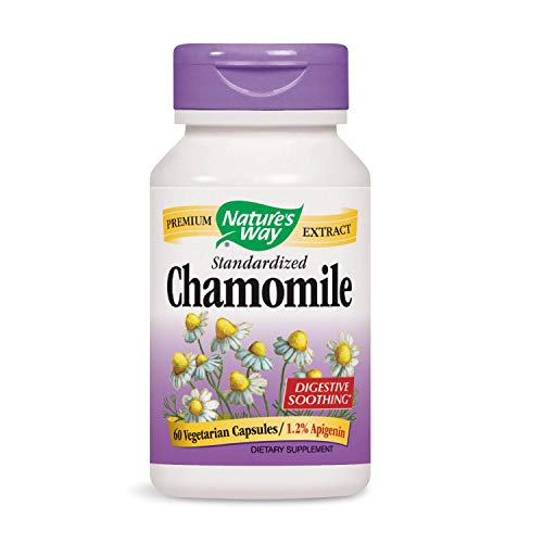 Nature's Way Chamomile Standardized 1.2% Apigenin, 60 Vcaps ()
