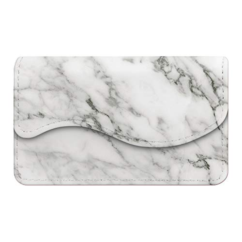 - Business Card Holder/Credit Card Wallet, Fintie Premium PU Leather Handmade Universal Card Case Organizer with Magnetic Closure, Marble