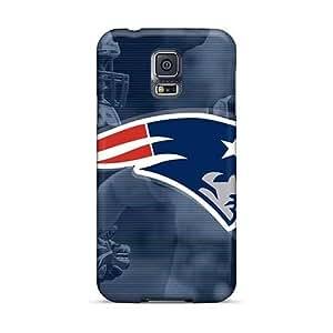Bumper Hard Phone Case For Samsung Galaxy S5 (rAk1972bcur) Customized Nice New England Patriots Skin