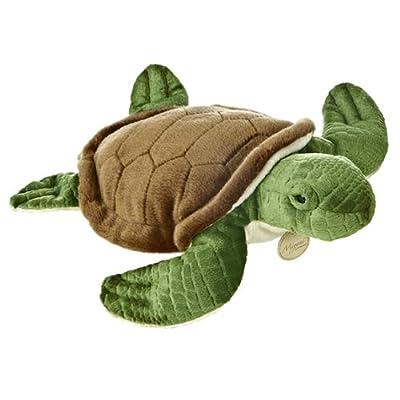"""Aurora World Miyoni Sea Turtle 15"""" Plush: Toys & Games"""