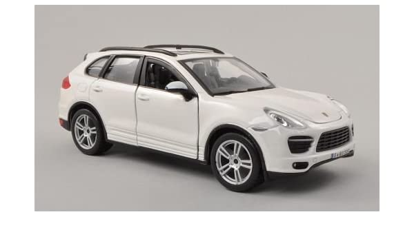 Amazon.com Porsche Cayenne (92A) Turbo, white, 0, Model Car
