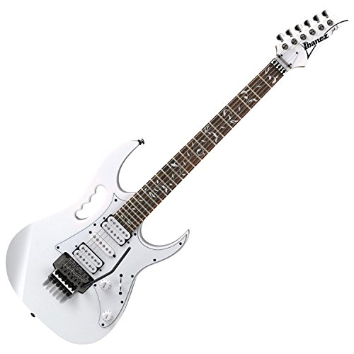 Ibanez JEMJRWH Steve Vai Signature 6-String Electric Guitar - White