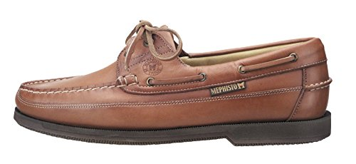 Mephisto Men's Hurrikan Oxfords Shoes, Rust Smooth, Size - -