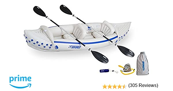 Seadoo 2 Man Inflatable Kayak
