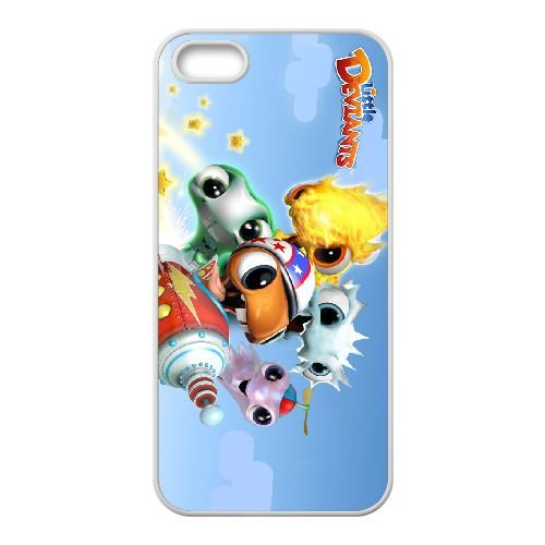 Little Deviants K6F75 E7E2SQ coque iPhone 4 4s cellulaire cas de téléphone couvercle coque blanche DE0DUN2BN