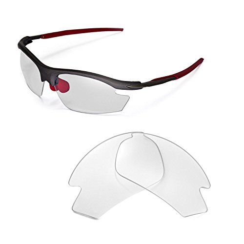 1a1f78af50 Walleva Replacement Lenses for Rudy Project Rydon Sunglasses - Multiple  Options (Clear)