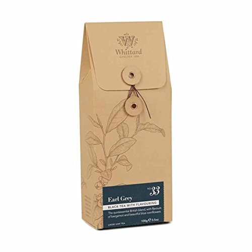 Whittard Tea Earl Grey Loose Leaf 100g