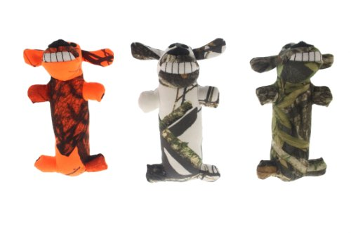 Multipet Mossy Oak Loofa Plush Dog Toy, 6-Inch, My Pet Supplies