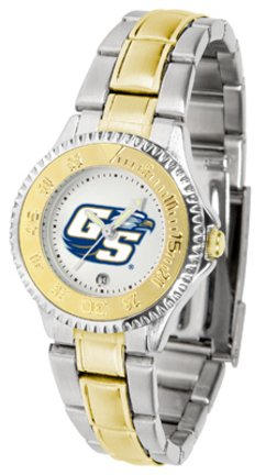Eagles Watch Competitor - SunTime Georgia Southern Eagles Competitor Ladies Watch with Two-Tone Band