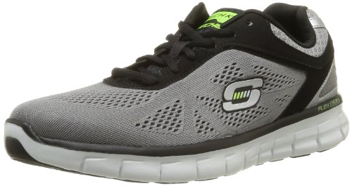 Skechers Synergy Power Shield 51187 - Zapatillas para hombre, color verde, talla 39 EU (5.5 Herren UK) Gris (Grau (LGBK))