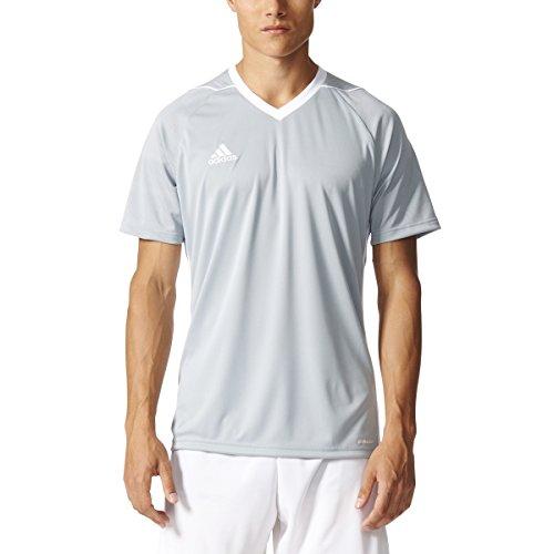Adidas Tiro 17 Mens Soccer Jersey L Light Grey/White