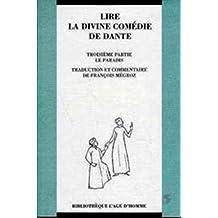 Lire la divine comédie de Dante : le paradis