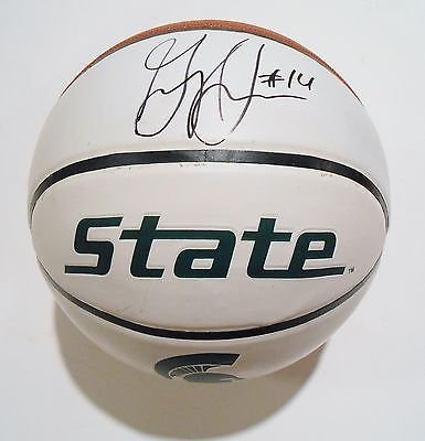 Gary-Harris-Signed-Michigan-State-Spartans-Logo-Basketball-wCOA-St-Full-Size
