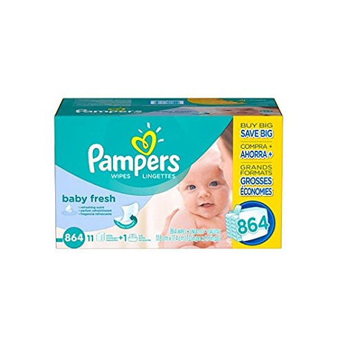 Price comparison product image Pampers Soft Care Baby Wipes (864 ct.)