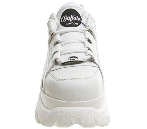 0 Blanco 14 Blanco 1339 Mujer 2 Zapatos Buffalo 6waTx4tw